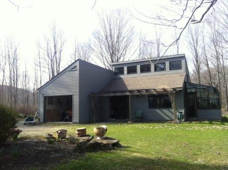 Sue's studio in Hillsdale NY